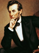 chan dung Abraham Lincoln