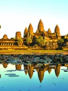 Asia Images of Indochina and Angkor Wat Bayon MH (1)