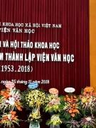 Kỷ niệm 65 năm thành lập Viện Văn học