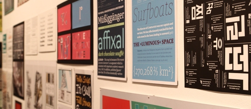 Exhibition Graphic Design and Typography