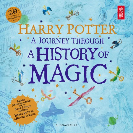 Bìa cuốn Harry Potter A Journey through a History of Magic