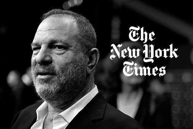 loat anh dieu tra ve Harver Weinstein giup NY times và NY