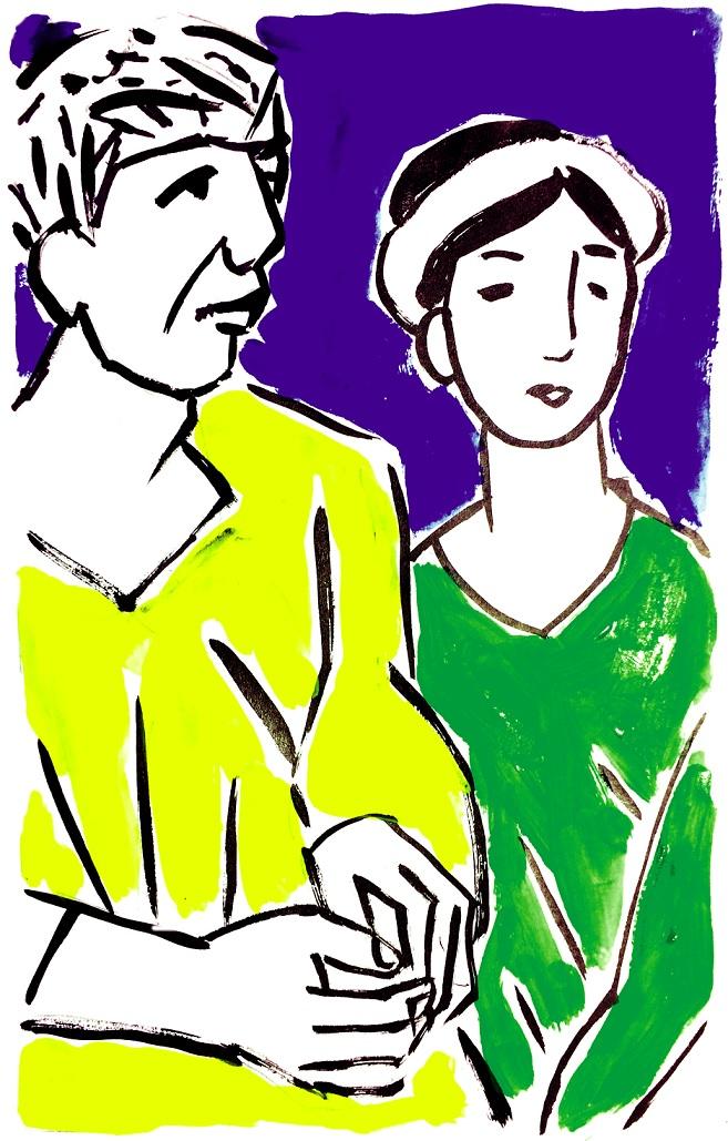 Người quản trang vàm Tân Dinh