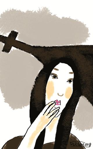 vẽ VNQĐ Người mang thánh giá new