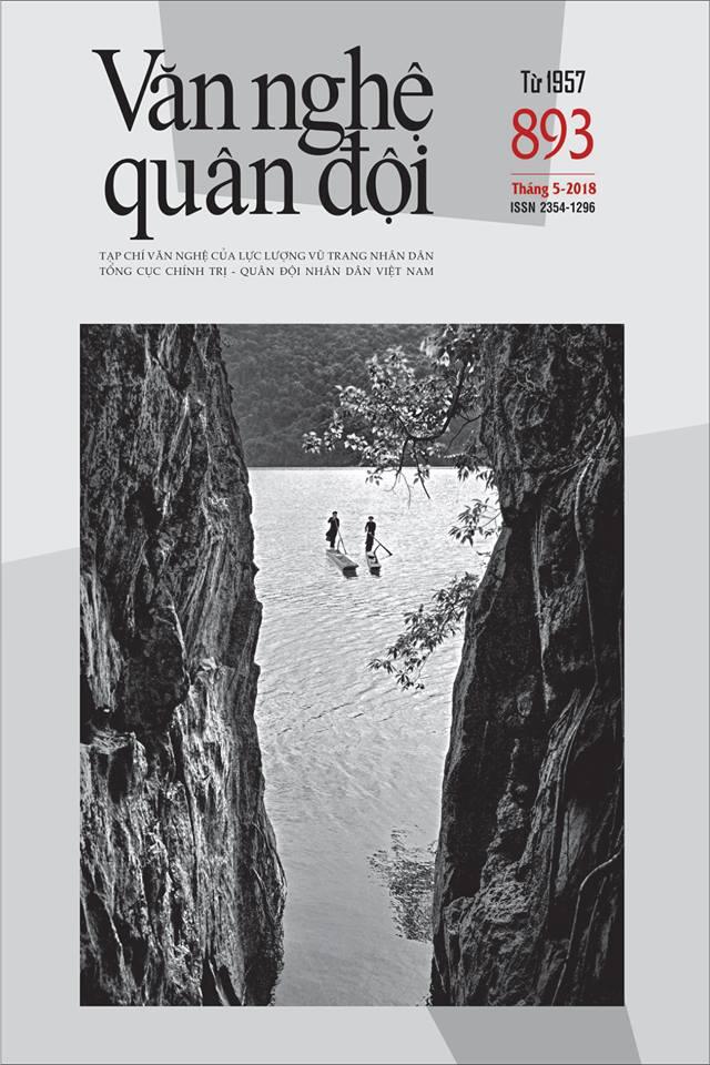 Tạp chí Văn nghệ Quân đội số 893 (cuối tháng 5/2018)