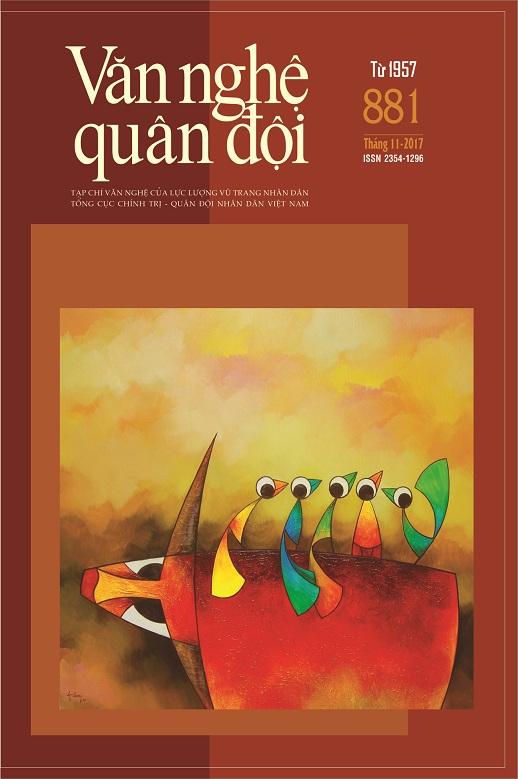 Tạp chí Văn nghệ Quân đội số 881 (cuối tháng 11/2017)