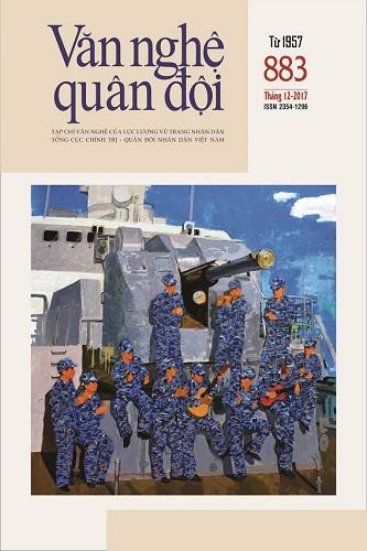 Tạp chí Văn nghệ Quân đội số 883 (cuối tháng 12/2017)